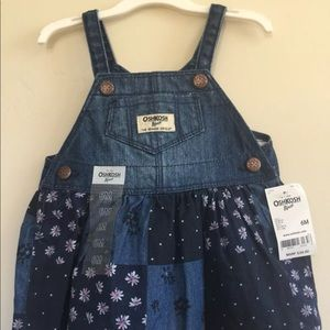 Baby Girl dress overall size 6 Month